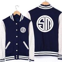Game LOL North American TSM Team Uniforms Unisex Cosplay Sweatshirt Baseball Jersey High Quality Free Shipping