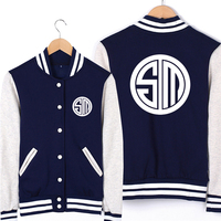 Game LOL North American TSM Team Uniforms Unisex Cosplay Sweatshirt Baseball Jersey High Quality Free Shipping