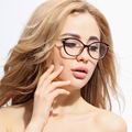 Fashion Female Glasses TR 90 Eyewear Cat Eyes Stylish Optical Glasses Frame for Women