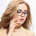 Moda Feminina Óculos TR 90 Óculos Olhos de Gato Elegante Quadro Vidros Ópticos para As Mulheres