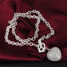 Declaración collar esterlina de plata-joyería 925-sterling-silver maxi collier joyería collares colar bijoux mujeres 925 amor envío 13
