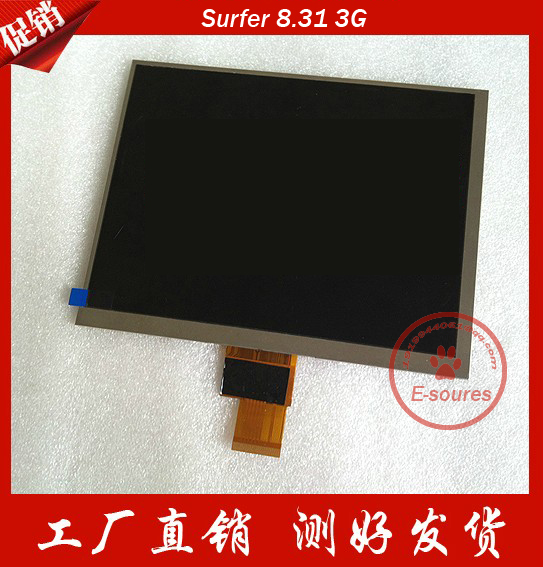 LCD Display 8 inch Explay Surfer 8.31 3G TABLET LCD Display Screen Panel Replacement Digital Viewing Frame Free Shipping