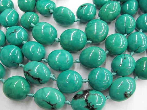15-30mm 16inch high quality turquoise semi precious nuggets freeform blue green jewelry beads недорго, оригинальная цена
