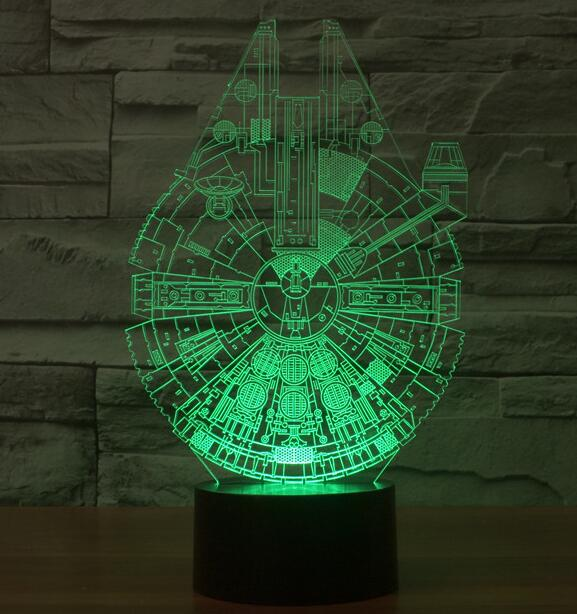 Star Wars Death Star 3D Deco Light Lamp Shade Darth Maul R2D2 BB8 Rogue One Star  Wars 7 Colors Changing For Christmas Gifts Toys In Action U0026 Toy Figures ...
