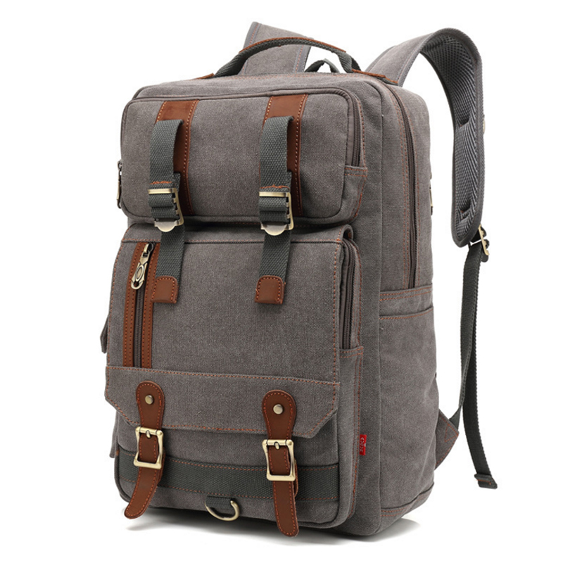 Man's Canvas Backpack Travel Schoolbag Male Backpack Men Large Capacity Rucksack School Bag Laptop Backpacks Mochila Escolar hot casual travel men s backpacks cute pet dog printing backpack for men large capacity laptop canvas rucksack mochila escolar