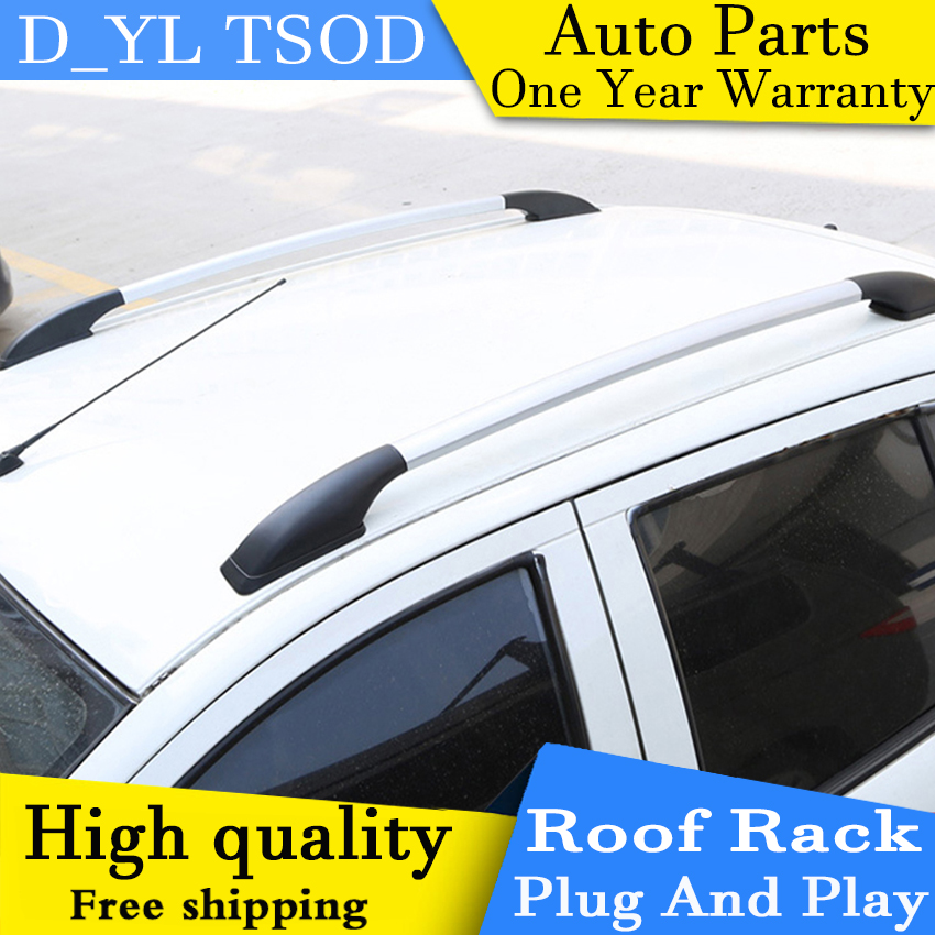 D_YL Car Styling For Suzuki Swift Car Roof Rack Aluminum Alloy Luggage Rack  Punch Free 1.3