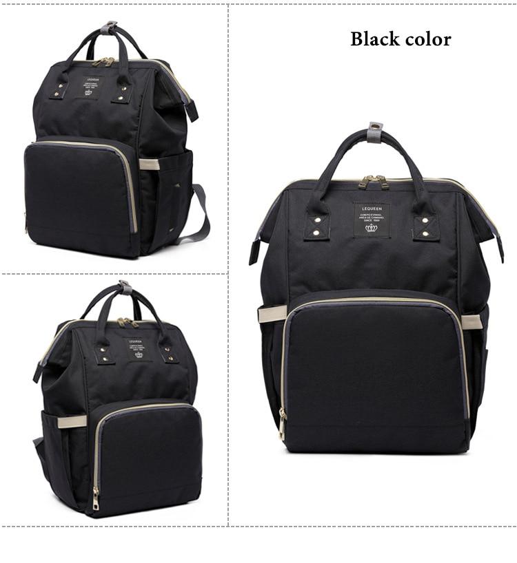 HTB19pKbXnTI8KJjSsphq6AFppXas Fashion Brand Large Capacity Baby Bag Travel Backpack Designer Nursing Bag for Baby Mom Backpack Women Carry Care Bags
