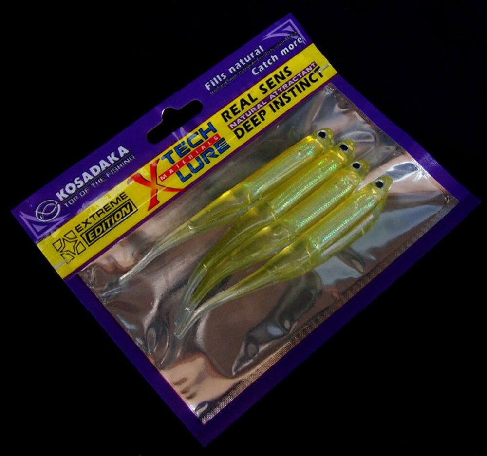 10PCS Soft Lure rainbow Fish Fishing Bait Capuchin maggots Grub worm Silicone 10cm/3g