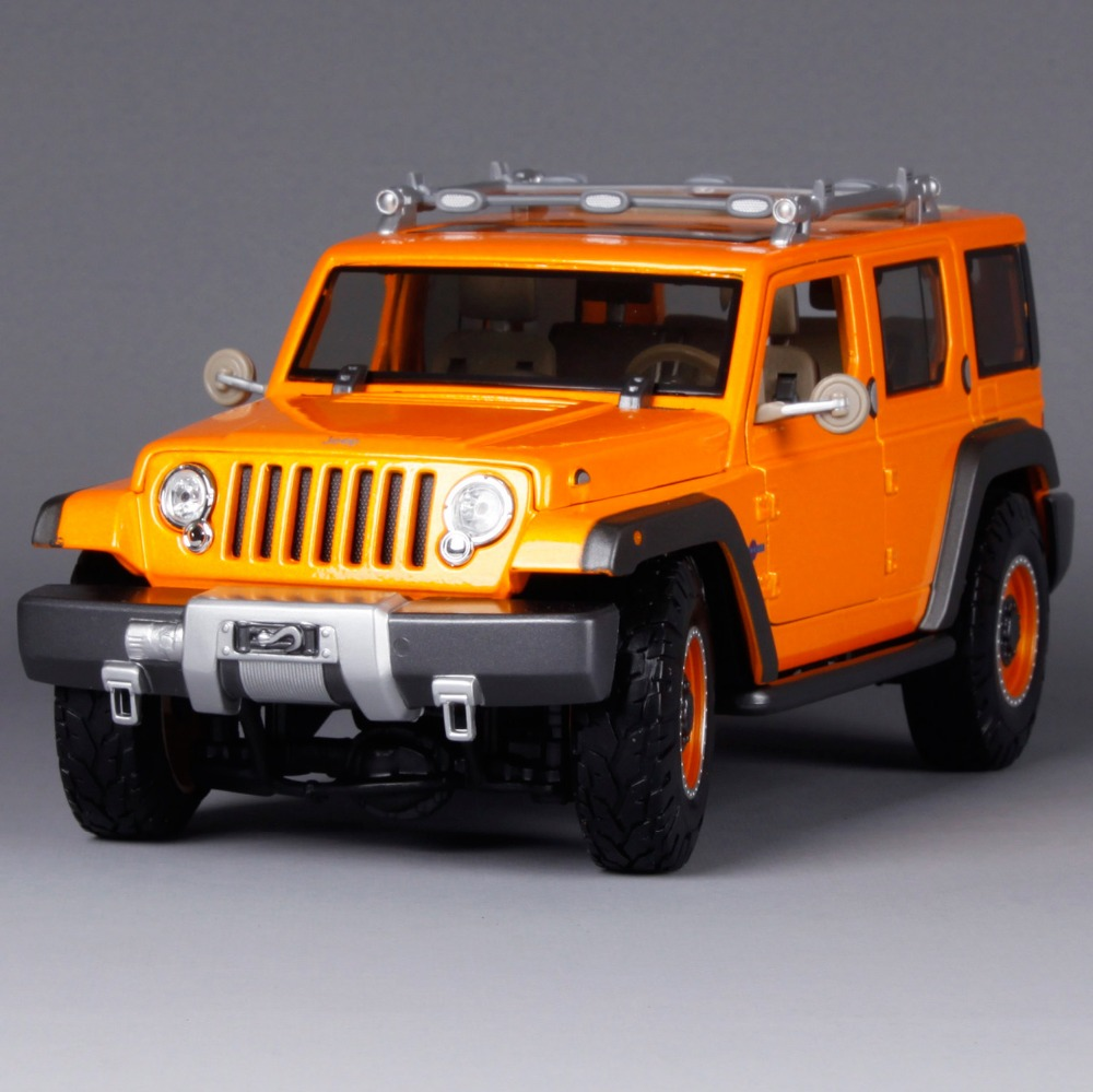Maisto 1:18 JEEP Rescue Concept SUV Car Diecast Model Car Toy New In Box Free Shipping 36699 1 18 scale jeep wrangler rubicon diecast metal car suv model maisto 31663 blue