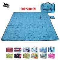 High Quality Waterproof Foldable Comfortable Sand Free Mat 200 200 Large Beach Mat Cheap Camping Mattress