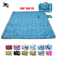 High Quality Waterproof Foldable Comfortable Sand Free Mat 200 200 Large Beach Mat Cheap Camping Mattress