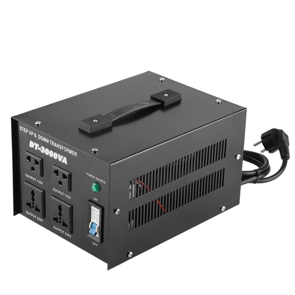 Voltage Converter 3000VA Voltage Regulator Transformer 220v to 110V Step Up/Down (EU plug)Voltage Converter 3000VA Voltage Regulator Transformer 220v to 110V Step Up/Down (EU plug)