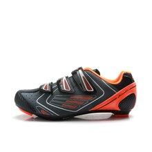TIEBAO/унисекс; обувь для верховой езды на твердой подошве; обувь для велоспорта; дышащая обувь для шоссейного велосипеда; G1521