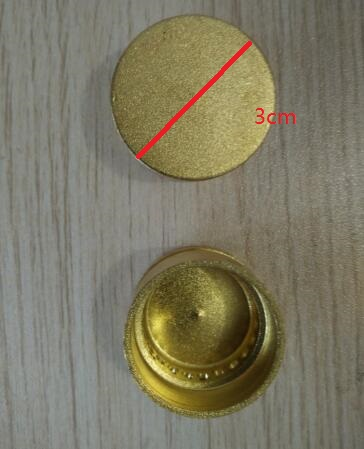 Cooktop Parts brass gas burner small fire cover cap 2X2.6CM cooktop parts 2x2cm gas burner parts copper small fire cover
