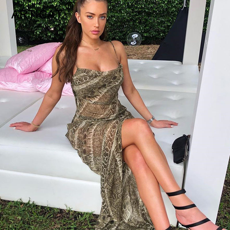 Articat Print <font><b>Women</b></font> <font><b>Chiffon</b></font> Maxi <font><b>Dress</b></font> 2020 <font><b>Fashion</b></font> Transparent <font><b>Sexy</b></font> Backless Beach Summer <font><b>Dress</b></font> <font><b>Elegant</b></font> Club Party Long <font><b>Dress</b></font> image