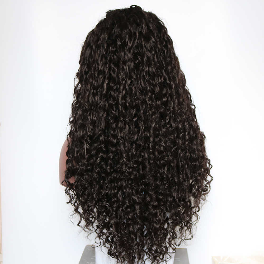 Fantasía belleza larga peluca rizada suelta de encaje sintético pelucas frontales para mujeres pelo resistente al calor tejer pelucas completas