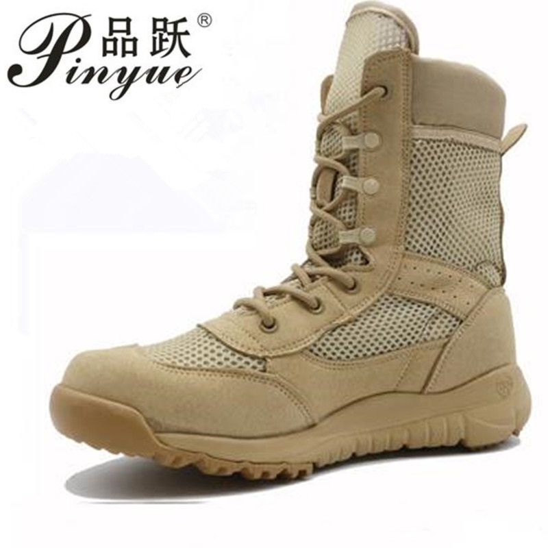 Outdoor Lightweight Men Military Training Boots Sports Hiking Boots Fishing Shoes Army Tactical Combat Walking Shoes Snow Boots outdoor tactical boots army combat military boots snow training boots men s hunting sports hiking boots desert camouflage shoes