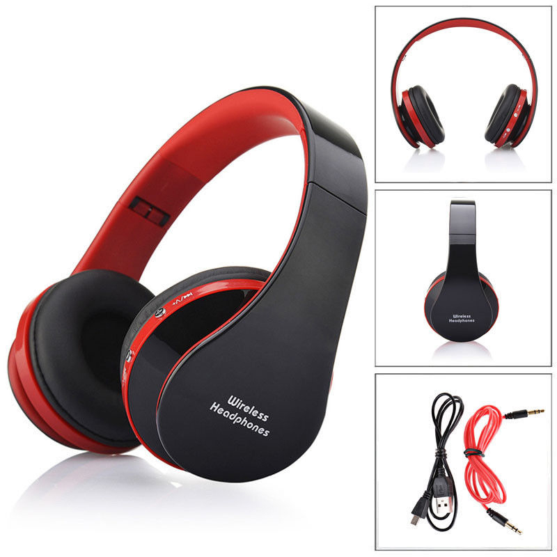Wireless Bluetooth Foldable Headphone Surper Bass HIFI Stereo Music Headset Portable Sport Running Headphones For Iphone Android