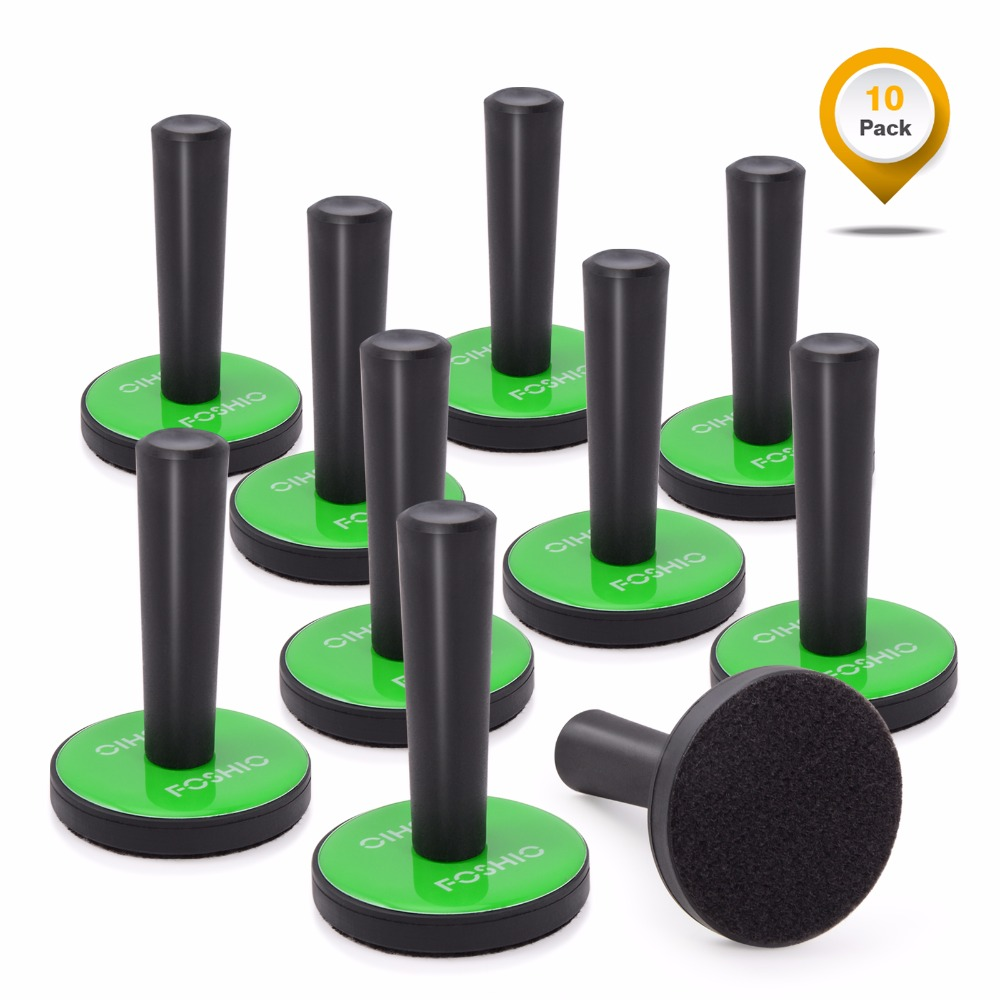 EHDIS 10 pièces vinyle voiture feuille pellicule de film support magnétique Auto emballage magnétique outils de fixation magnétique fenêtre teinte outils autocollant accessoires