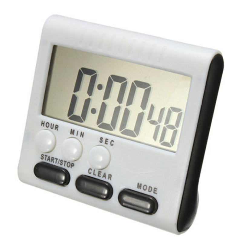 LCD Digital Cooking Kitchen Countdown Timer with Loud Alarm Large ...