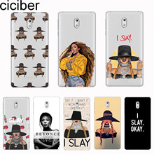 ciciber For Nokia 8 7 7.1 6 6.1 5 5.1 3 3.1 2.1 1 Plus 9 PureView Phone Cases For Nokia X7 X6 X5 X3 Cover Soft TPU Music Beyonce(China)