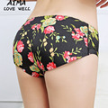 Fashion Women Body Shaper Panties Shorts Sexy Belly Control Underbust Slimming Printing Underwear Waist Butt Lift Panties