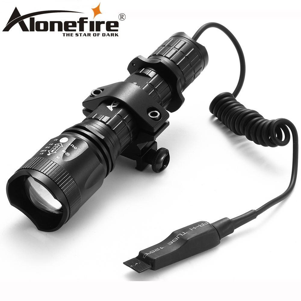 AloneFire TK400 Tactical led Focusing flashlight xml L2 gun light+scope mount+Pressure Switch sitemap 40 xml