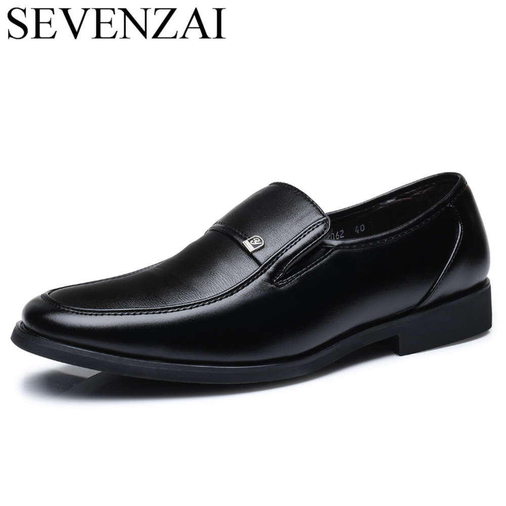 men italian formal classical leather derby dress shoes male slip on elegant business office footwear man oxford shoes for men