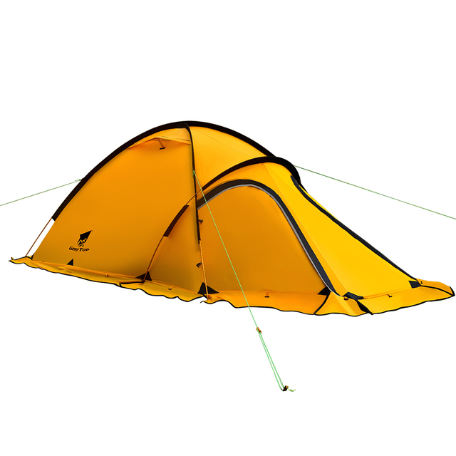 GeerTop Navigator 2Plus 2 Person 4 Season 20D Lightweight Winter Tent (Yellow)  sc 1 st  AliExpress & GeerTop Navigator 2Plus 2 Person 4 Season 20D Lightweight Winter ...