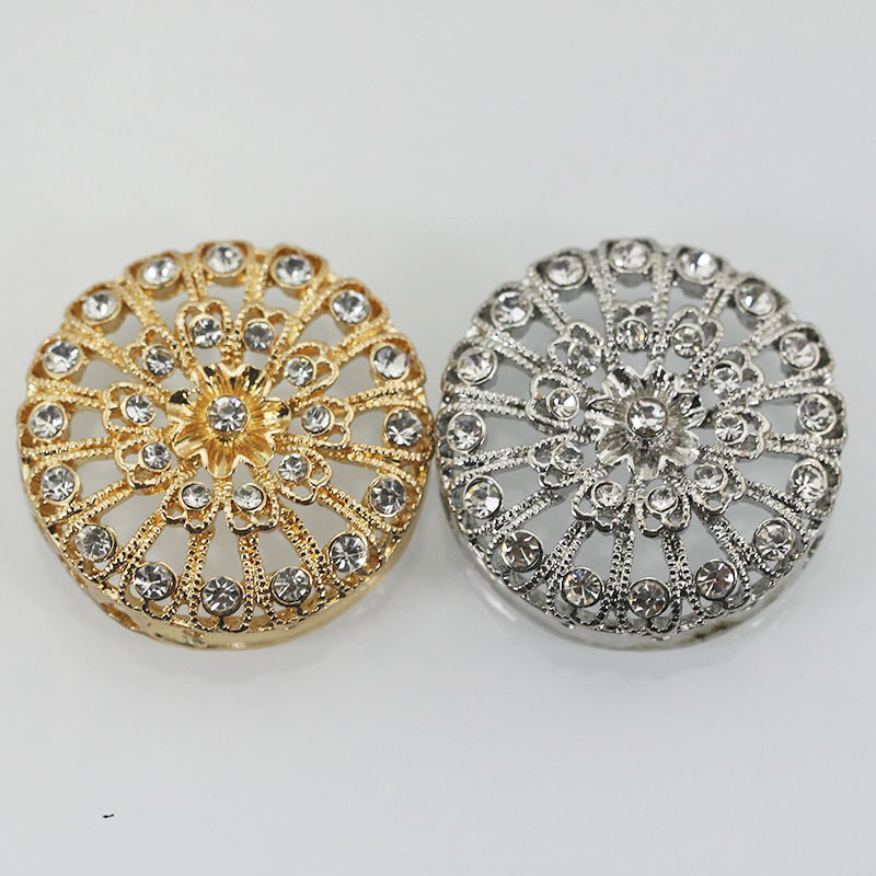 2017 New Luxury Big Rhinestone Zircon Jewelry Accessories African Jewelry Findings DIY Bead Making Connectors Components ABH565