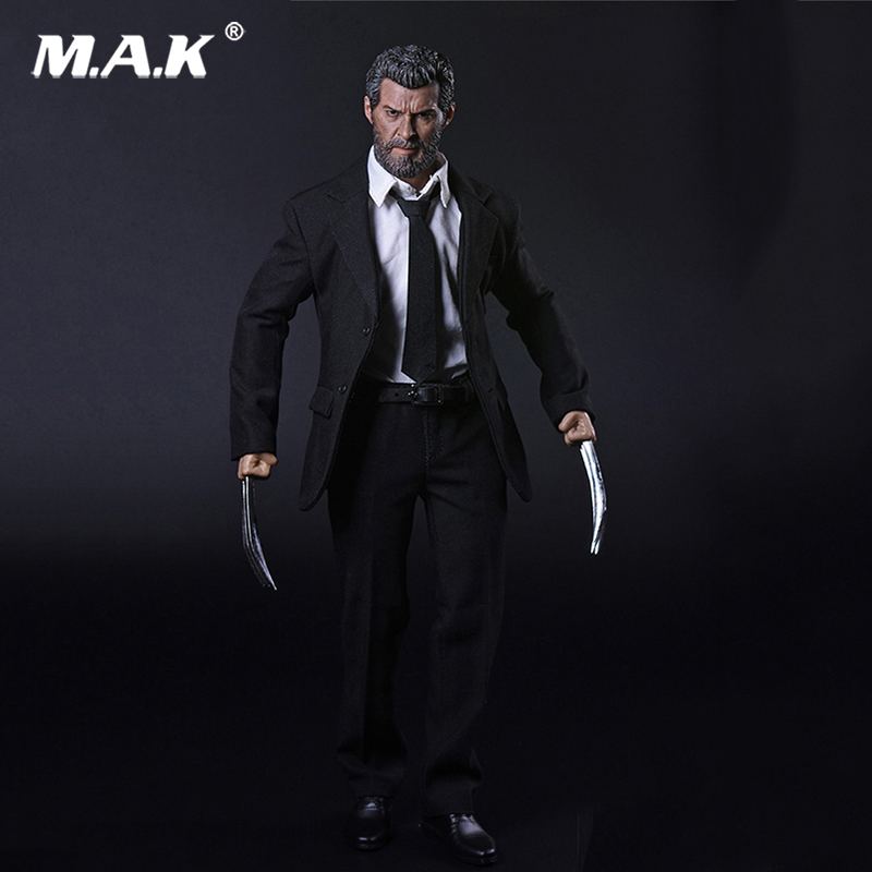 Wolverine Logan Full Set  Action Figure 1/6 Scale  Clothes &Head & Body With Wolf Claws Full Set Figures Collections Gifts Toys 1 6 scale full set male action figure kmf037 john wick retired killer keanu reeves figure model toys for gift collections