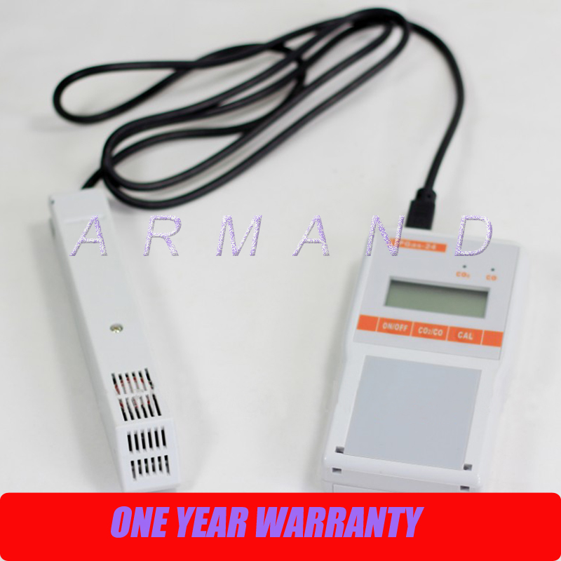 Handheld Multi Gas Detector Analyzer PGas-24 CO/CO2 carbon monoxide and carbon dioxide Alarm Sensor
