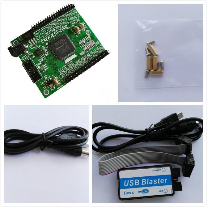 EP4CE10 altera fpga board fpga altera board fpga development board + USB  Blaster fpga kit altera kit cyclone IV kit