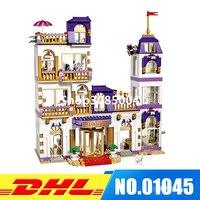 DHL IN Stock LEPIN 01045 1676Pcs PCS Friends Heartlake Grand Hotel 41101 Popular Kids Toy Model