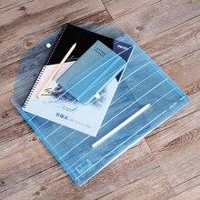 50 шт./партия A4 папка для документов держатель для файлов канцелярские сумки для документов папка для файлов пластиковые офисные школьные принадлежности