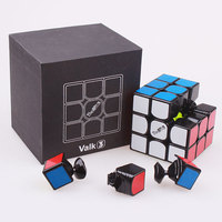 Qiyi Valk3 Magic Speed Cube Stickerless Professional Funny Toys For Children Puzzle Cubo Magico Valk 3