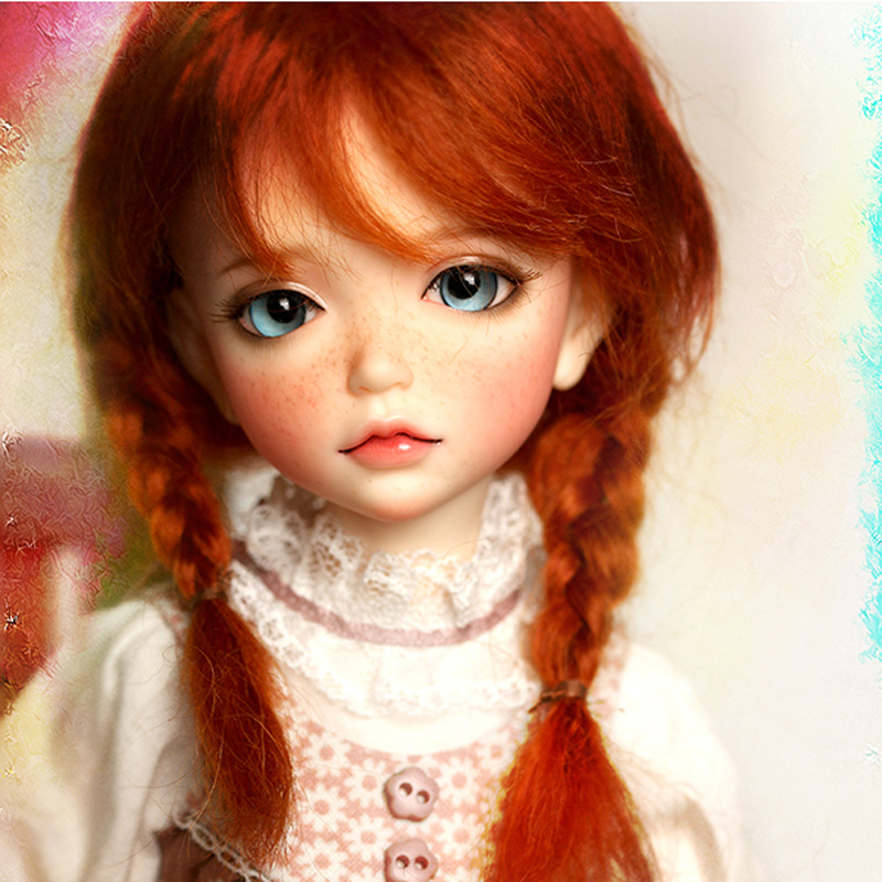 все цены на New Arrival 1/6 BJD Doll BJD/SD Fashion With Fleckles LOVELY Doll For Baby Girl Birthday Gift Free Shipping