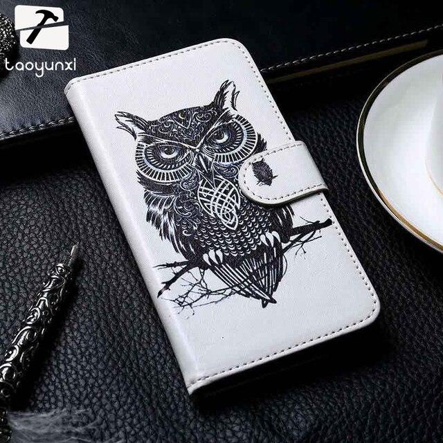 TAOYUNXI Leather Cases For Samsung Galaxy Trend Plus GT S7580 S7710 S7390 Ace III S7270 S7262 S7260 S6802 Young S6310 Phone Case