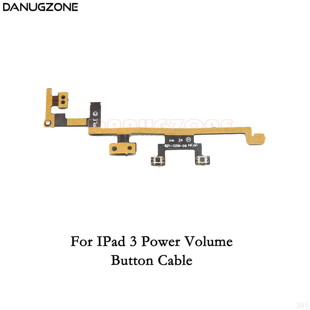 perfk Power On/Off Button Volume Mute Control Flex Cable Replace ...