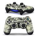 Cool PVC High quality $100 Dollar Money Decal Skin Sticker Case Cover Protector For Sony for PS4 Playstation 4 Dualshock