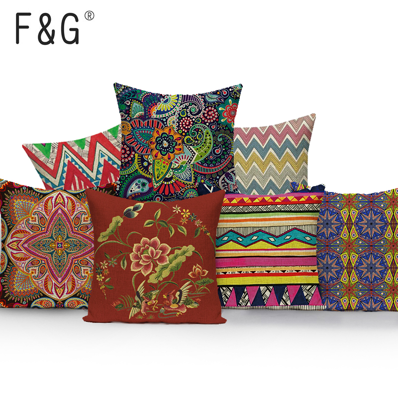 Detail Feedback Questions About Geometric Bohemian Pillow Cover