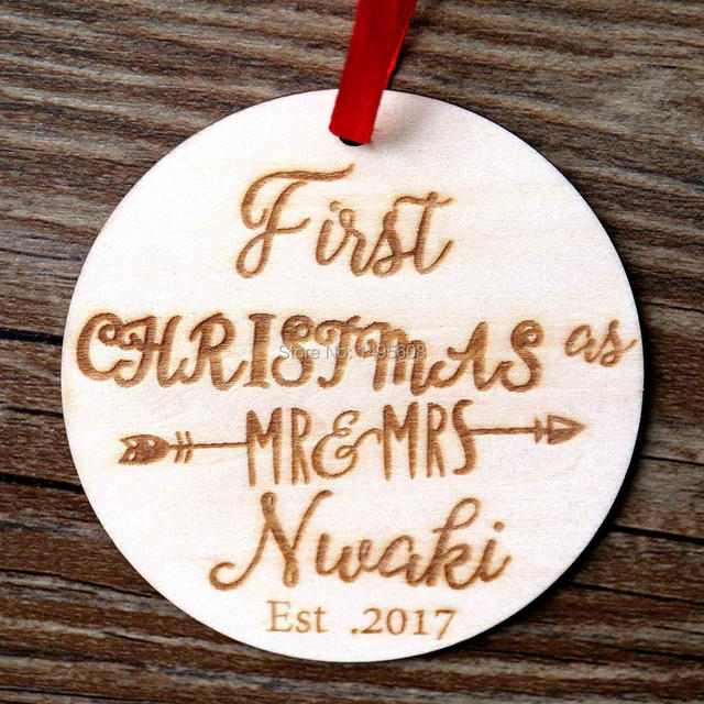 Our First Christmas Ornament, Personalized Christmas Ornament, Mr ...