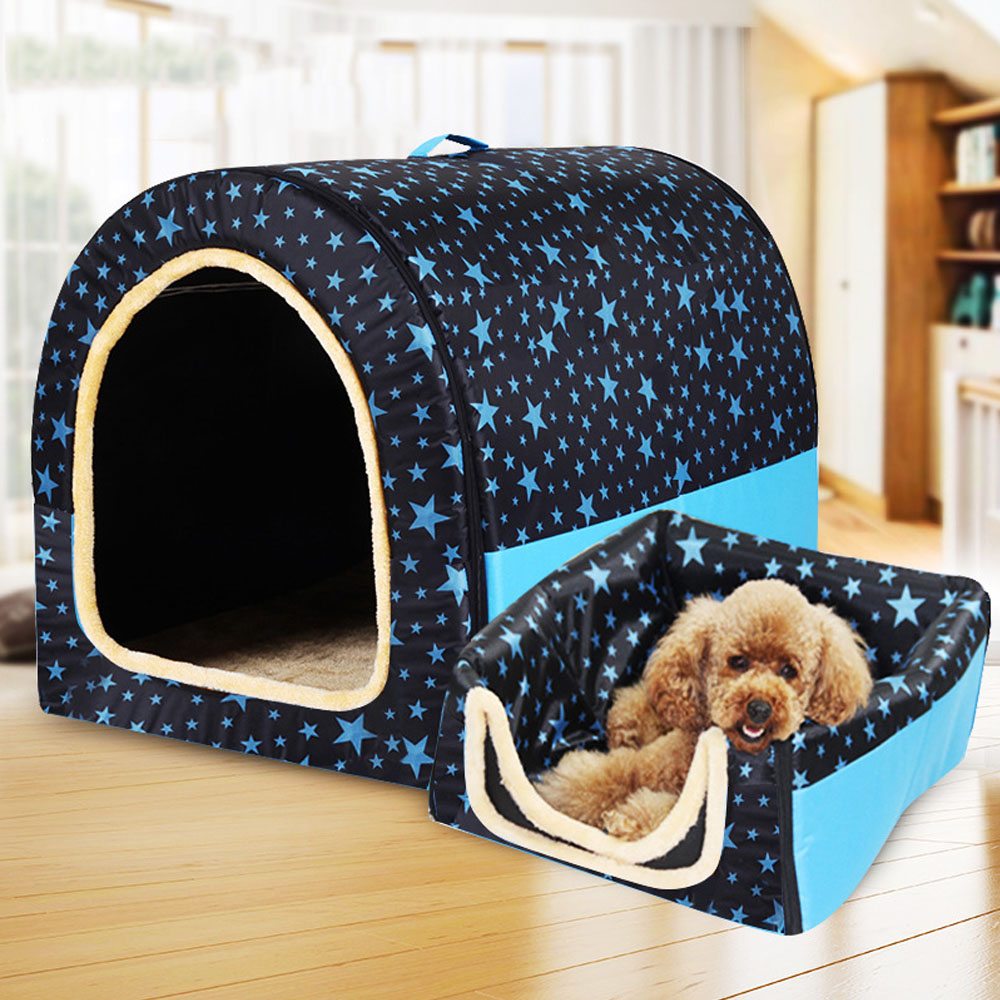 Foldable Warm Dog House // Puppy or Kitten 5