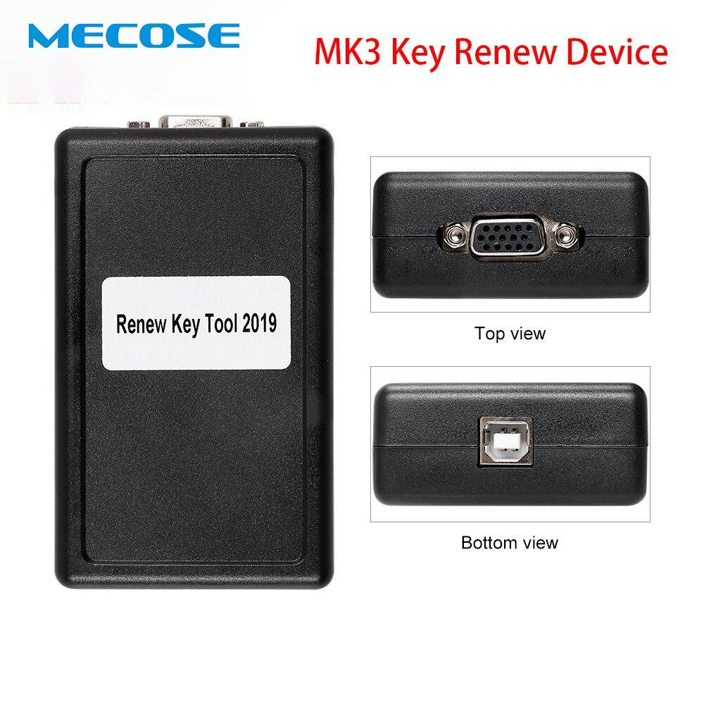 2019 Nova MK3 Renovar Dispositivo Chave para BMW/Chrysler/O-pel/G-M USB Mulit-marca pogrammer chave Maker Chave Remoto Completo Software de Desbloqueio