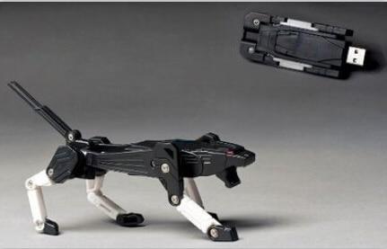 100% real capacity New variant dog car tiger card memory stick usb flash drive pen/car d ...
