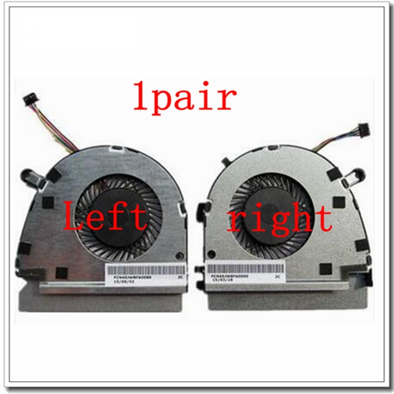 1 pair NEW Laptop cpu cooling fan for DELL for VOSTRO 5460 V5460 V5470 genuine new free shipping original for dell vostro 5460 5470 v5460 v5470 laptop 5pjv2 05pjv2 jw8 lvds cable dd0jw8lc010