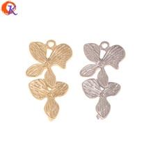Cordial Design 100 sztuk 14*27MM biżuteria akcesoria/kolczyki złącza/kształt kwiatu/DIY/Hand Made/biżuteria ustalenia komponent