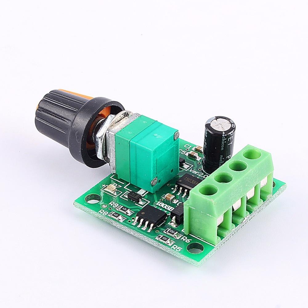 Yosoo Mini 18 15v 2a Pwm Dc Motor Speed Regulator Controller Switch Control Of Using Pulse Width Modulation In This