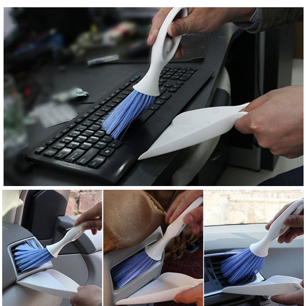 Automotive Air Conditioning Vent Cleaning Brush Detail Brush Interior Cleaning Tool Brush multifunctional Brush For Car House