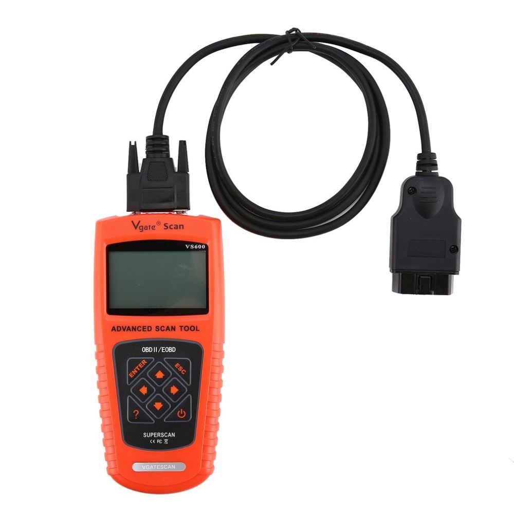Vgate VS600 Scan Tool VAG OBD2 EOBD Scanner Automotive Auto Diagnostic Tool Scanner Car Scanner Automotive metal detector vgate vc210 obdii eobd car scanner vehicle diagnostic tool for volkswagen audi